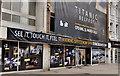 "J3374 : ""Titanic"" advertising, Belfast by Albert Bridge"