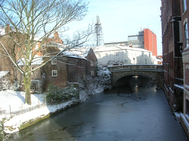 River Foss from Piccadilly