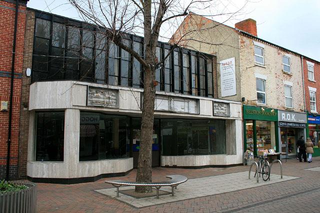 A shop vacant again