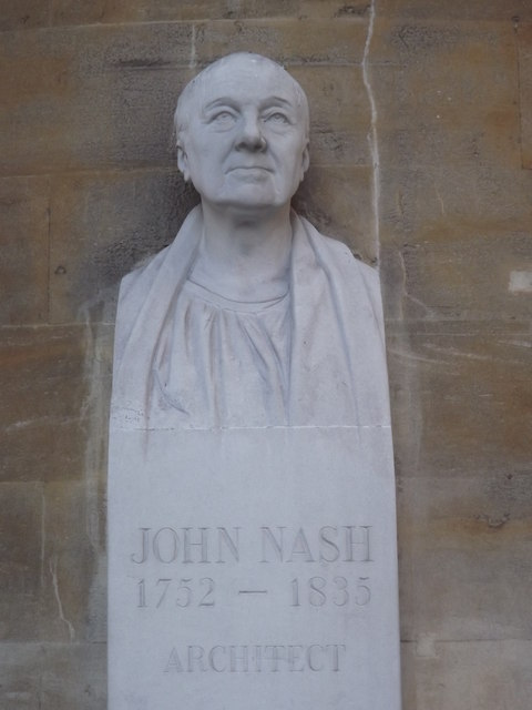 John Nash, 1752-1835, Architect