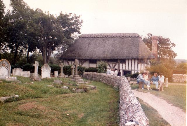 Alfriston Clergy House 27 September 1985