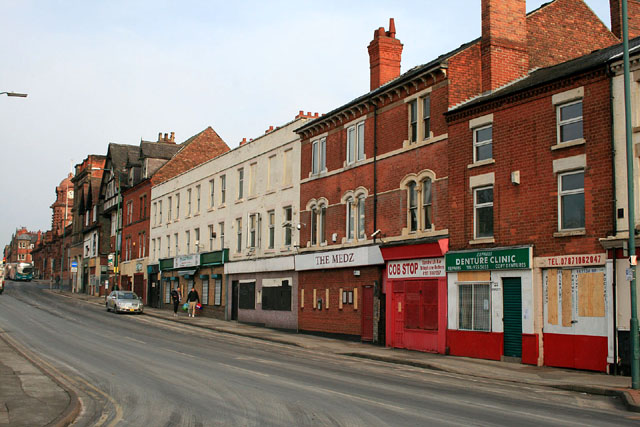 Doomed buildings on Arkwright Street