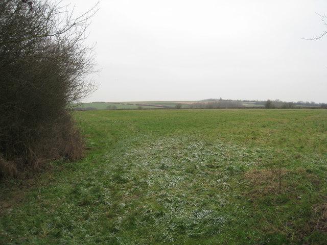 Looking towards Pen Hill