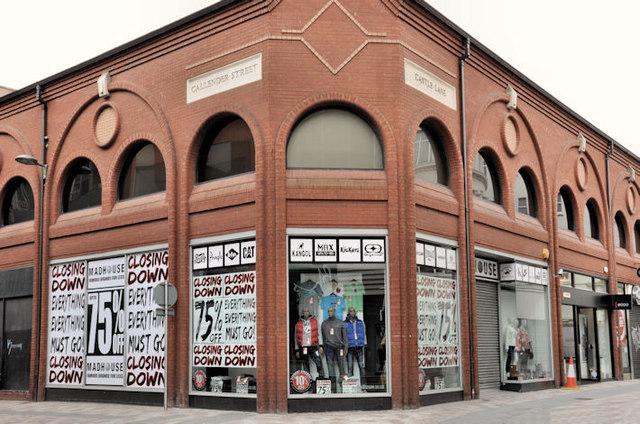 """Closing down"" sale, Belfast"