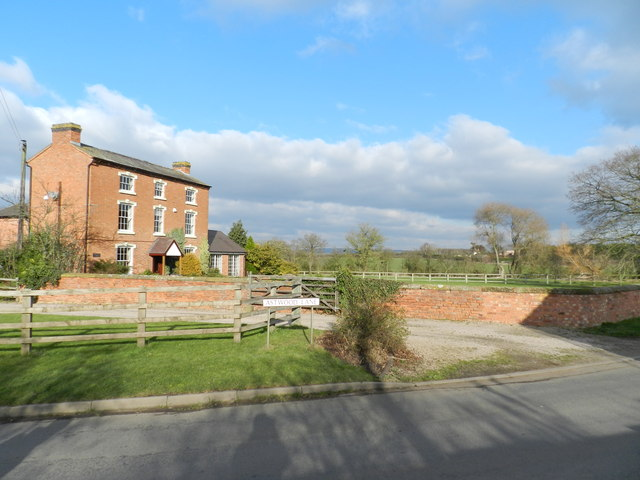 Astwood Lane, brick built three storey house