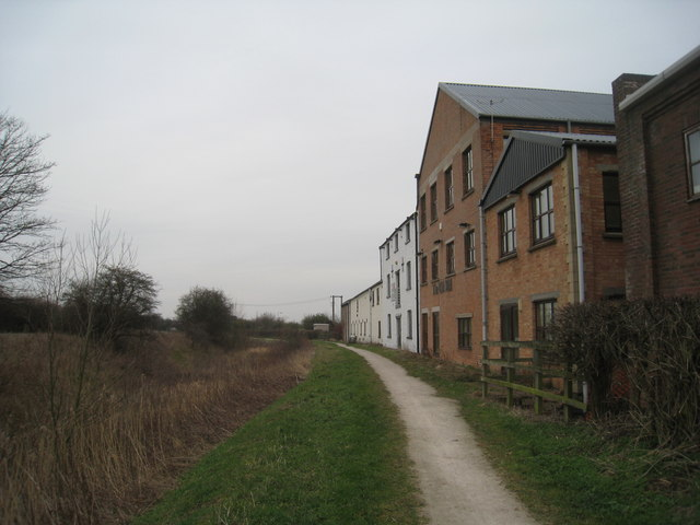 The former Sharpe's Mill