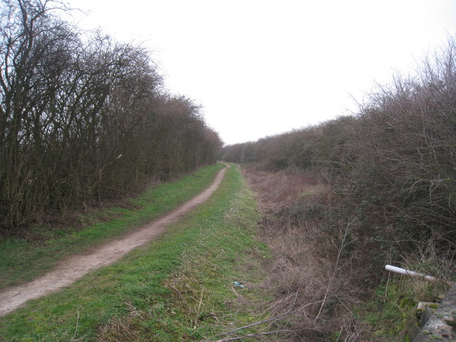 The course of the Grantham Canal
