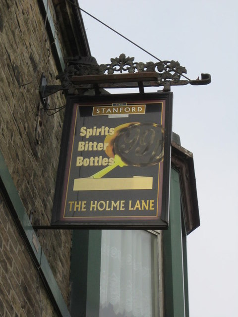The Holme Lane public house,on Tong Street