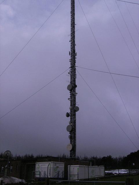 Lower part of Preseli mast