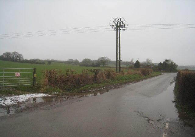 Lane near the ford