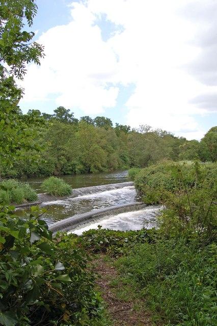 Weirs at Fiddleford Mill