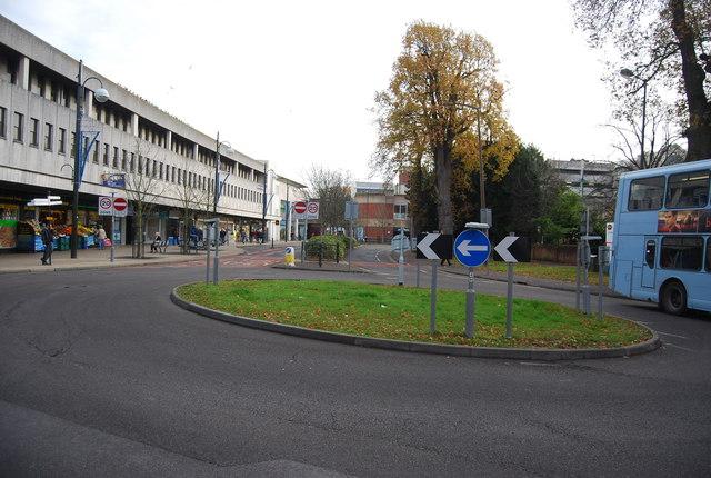 Roundabout, Friars Way