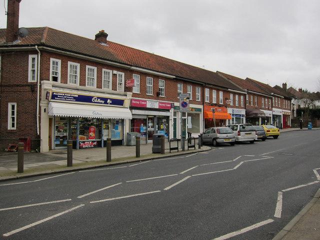 Shops on Villiers Avenue