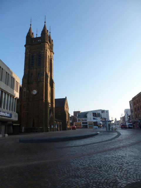 Blackpool: parish church of St. John the Evangelist