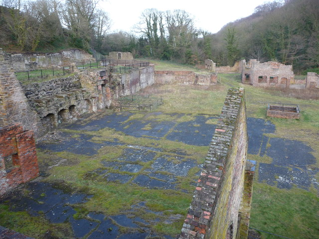 Industrial ruins below Battery Pool in the Greenfield Valley