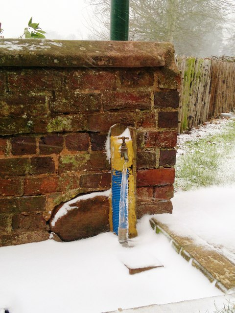 An Icicle in Enville Churchyard