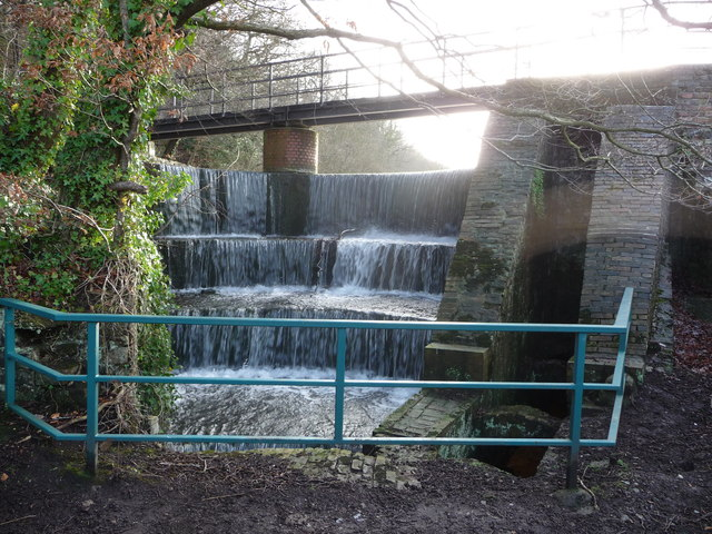 Spillway in the Greenfield Valley Heritage Park