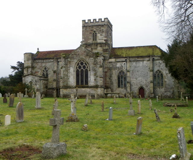 The Church of St John the Baptist, Bishopstone
