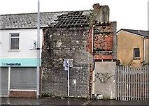 J3574 : Derelict building, Ballymacarrett, Belfast by Albert Bridge