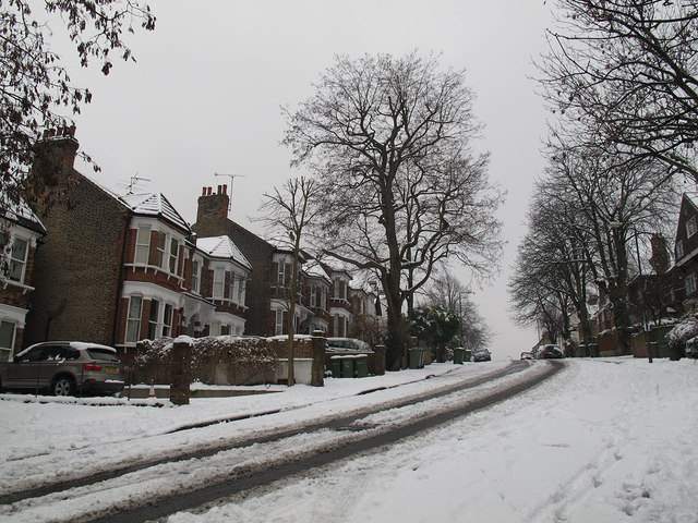 Glenluce Road - lower part