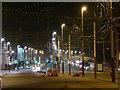 SD3035 : Blackpool: the Illuminations by night (but unlit) by Chris Downer