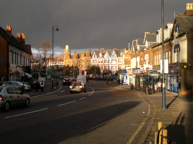 The Green and Alcester Road, Moseley