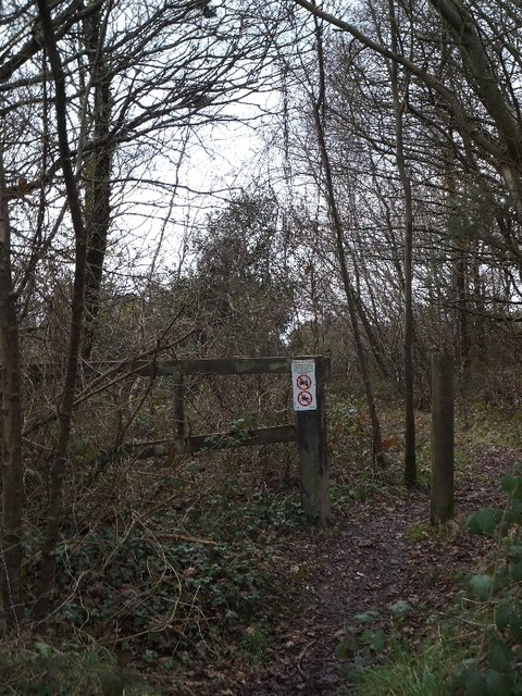 Bridleway on Ideford Common with prohibitions