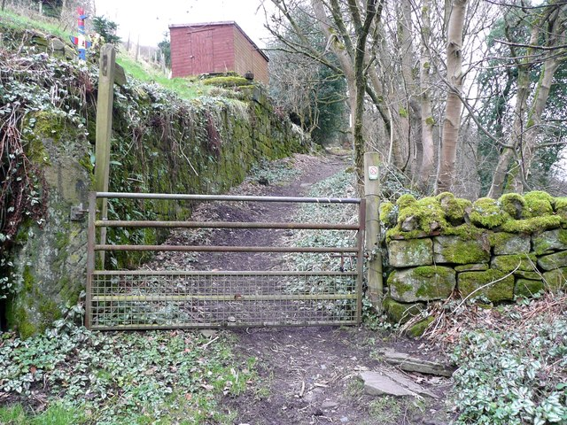 Footpath to Paper Mill Wood