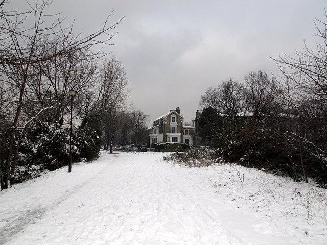 Path to Vanbrugh Park Road