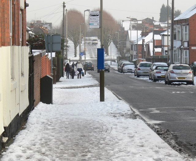 Duncan Road in the snow