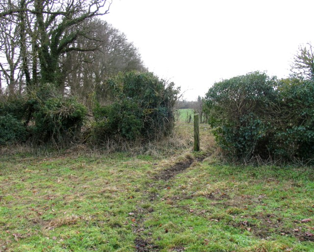Gap from Wire Lane