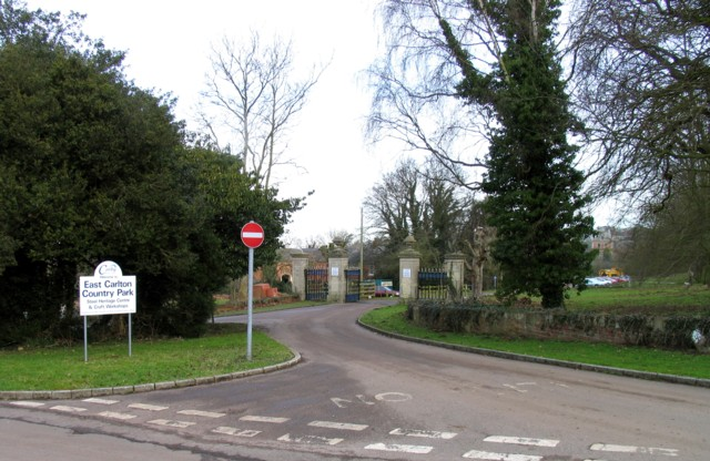 East Carlton Country Park entrance