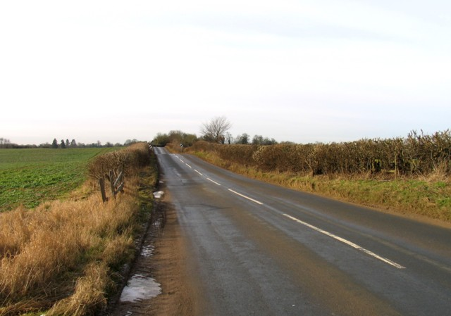Hipswell Road towards Rothwell