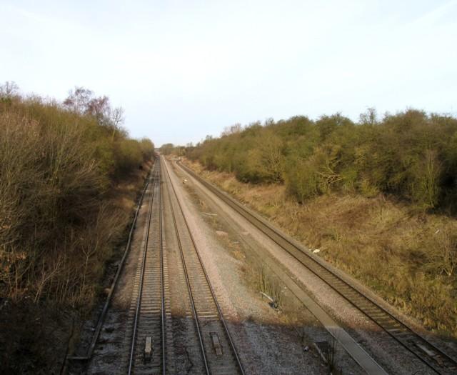 Midland Main Line towards Leicester