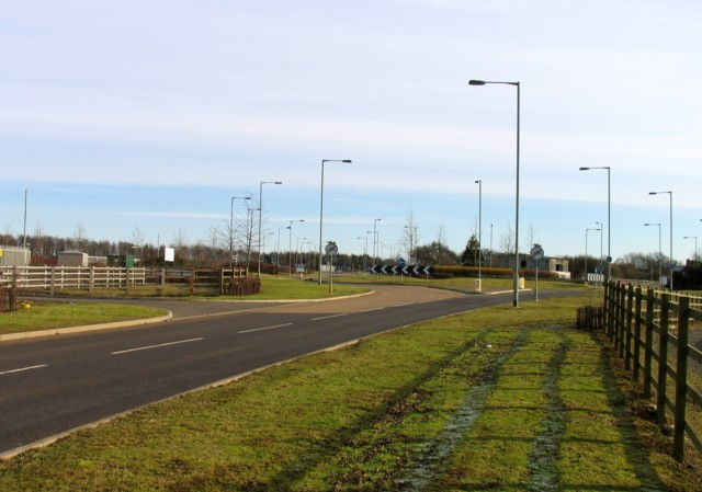 Hipswell Road roundabout