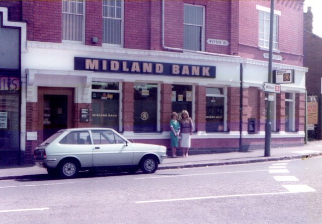 Midland Bank Witton August 1982