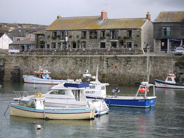 Harbour Inn Porthleven Cornwall