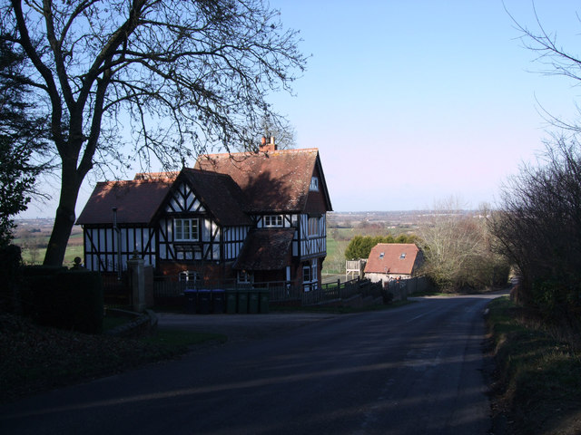 Half-timbered house, Salthrop