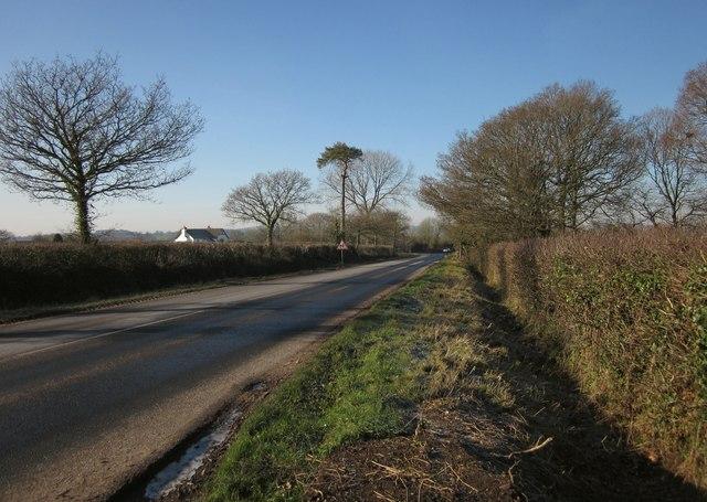 A373 near Newlands Farm