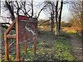 SJ7190 : Redbrook Wildlife Trail by David Dixon