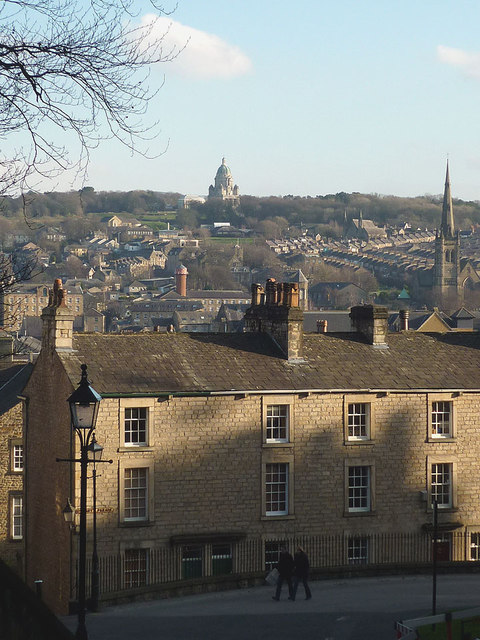 Lancaster from Castle Hill
