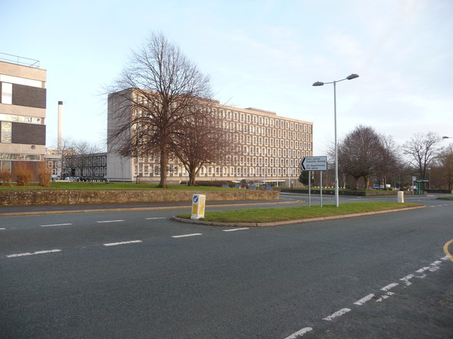 Part of the old Clwyd Shire Hall in Mold