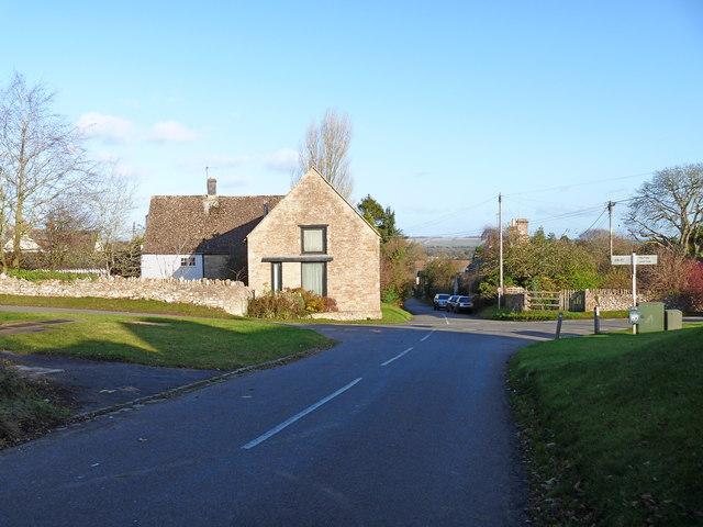Village crossroads