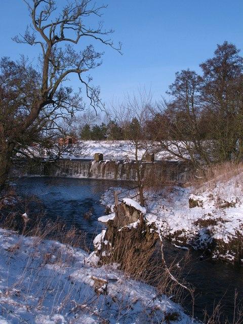 Weir on Cod Beck