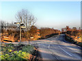SJ7290 : A Rural Road Junction by David Dixon