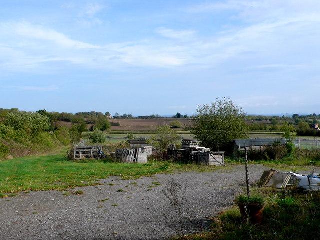 Small Farm Yard near Temple Grafton