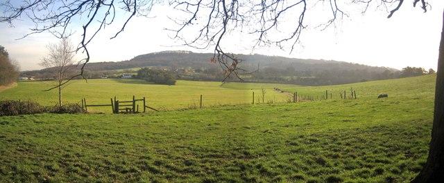 Adams Hill from Wychbury Hill