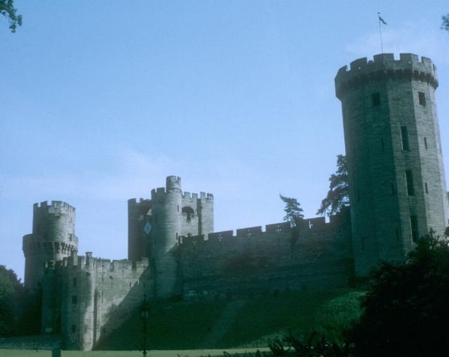Warwick Castle, east front