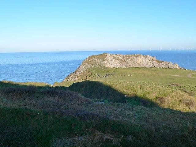 Trwyn y Fuwch from the incline