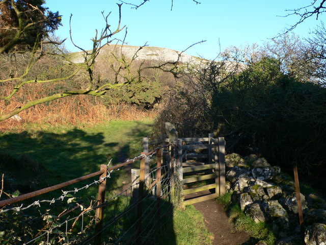 The North Wales Coast Path on Little Orme